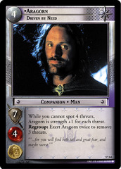 Aragorn, Driven by Need - 7P364 - Foil
