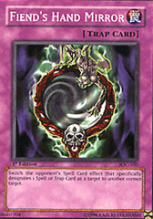 Fiend's Hand Mirror - IOC-102 - Common - 1st Edition