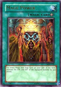 Mage Power - LON-050 - Ultra Rare - 1st Edition