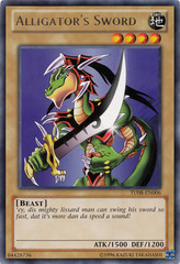 Alligator's Sword - TU08-EN006 - Rare - Promo Edition