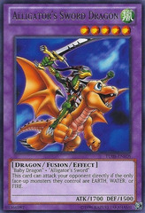 Alligator's Sword Dragon - TU08-EN008 - Rare - Unlimited Edition