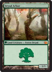 Dryad Arbor - Foil on Channel Fireball