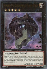 Number 33: Chronomaly Machu Mech - REDU-EN043 - Ultra Rare - 1st Edition