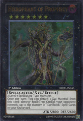 Hierophant of Prophecy - REDU-EN045 - Ultimate Rare - 1st Edition