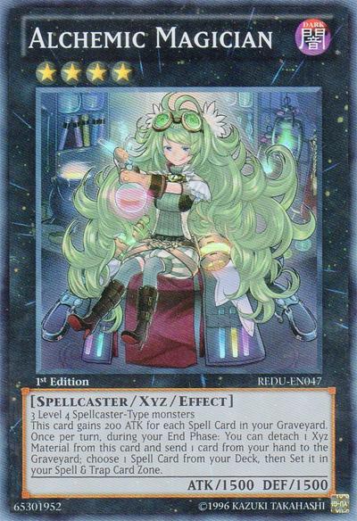 Alchemic Magician - REDU-EN047 - Super Rare - 1st Edition