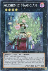 Alchemic Magician - REDU-EN047 - Super Rare - 1st Edition on Channel Fireball
