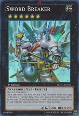 Sword Breaker - REDU-EN050 - Super Rare - 1st Edition