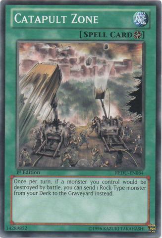 Catapult Zone - REDU-EN064 - Common - 1st Edition