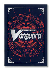 Cardfight! Vanguard Red Card Back Logo Sleeves (53ct)