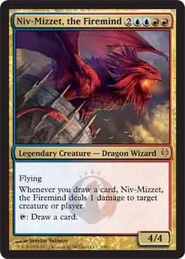 Niv-Mizzet, the Firemind - Foil