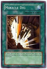Miracle Dig - LON-100 - Common - 1st Edition