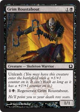 Grim Roustabout - Foil