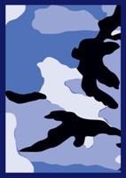 Legion Blue Camo Art Deck Protectors