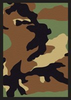 Camouflage Green Legion Standard Size Premium Gaming Card Sleeves (50 Ct)