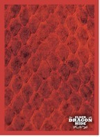 Legion Elder Dragon Hide Deck Protectors - Red