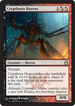 Cryptborn Horror - Foil