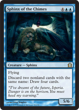 Sphinx of the Chimes - Foil