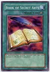 Book of Secret Arts - LOB-043 - Common - 1st Edition