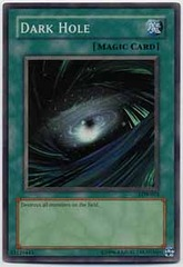 Dark Hole - LOB-052 - Super Rare - 1st Edition on Channel Fireball