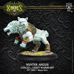 Circle Orboros: Winter Argus Light Warbeast
