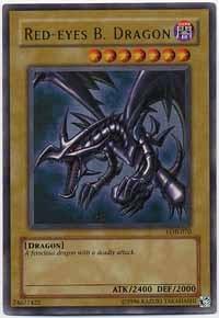 Red-Eyes B. Dragon - LOB-070 - Ultra Rare - 1st Edition