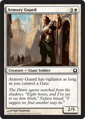 Armory Guard - Foil on Channel Fireball