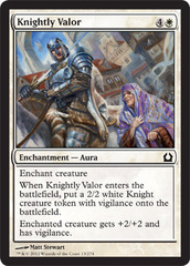 Knightly Valor - Foil