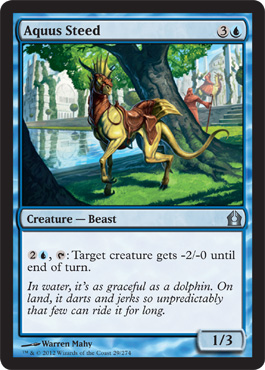 Aquus Steed - Foil