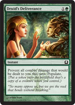 Druids Deliverance - Foil