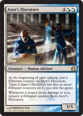 Azor's Elocutors - Foil on Channel Fireball