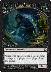 Assassin - Token (Black) Return to Ravnica