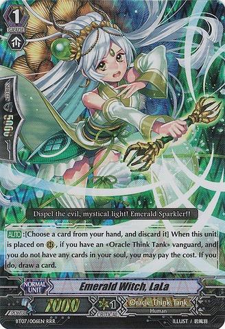 Emerald Witch, LaLa - BT07/006EN - RRR