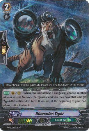 Binoculus Tiger - BT07/S03EN - SP