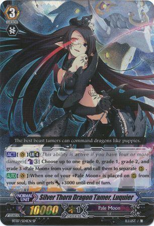 Silver Thorn Dragon Tamer, Luquier - BT07/S04EN - SP