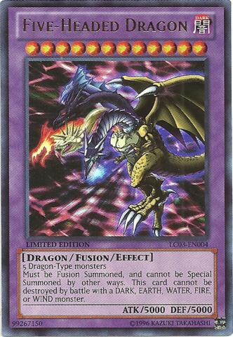 Five-Headed Dragon - LC03-EN004 - Ultra Rare - Limited Edition