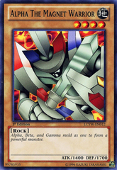 Alpha the Magnet Warrior - LCYW-EN012 - Common - 1st Edition