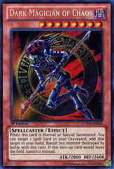 Dark Magician of Chaos - LCYW-EN026 - Secret Rare - 1st Edition