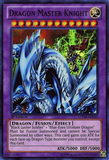 Dragon Master Knight - LCYW-EN050 - Super Rare - 1st Edition