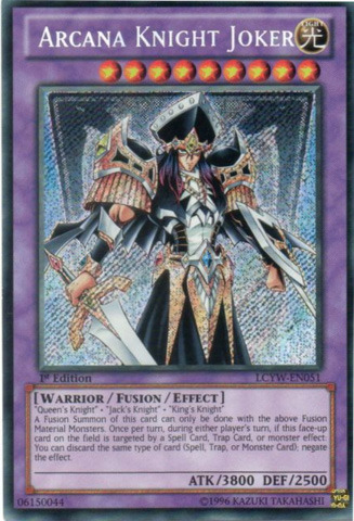 Arcana Knight Joker - LCYW-EN051 - Secret Rare - 1st Edition