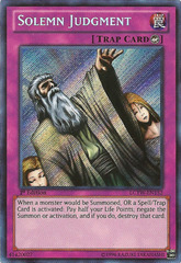 Solemn Judgment - LCYW-EN152 - Secret Rare - 1st Edition