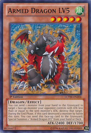 Armed Dragon LV5 - LCYW-EN204 - Common - 1st Edition