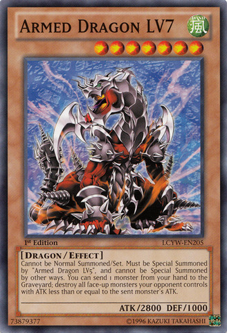 Armed Dragon LV7 - LCYW-EN205 - Common - 1st Edition