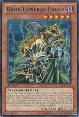 Dark General Freed - LCYW-EN214 - Common - 1st Edition