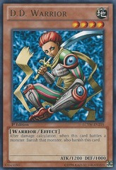 D.D. Warrior - LCYW-EN218 - Rare - 1st Edition
