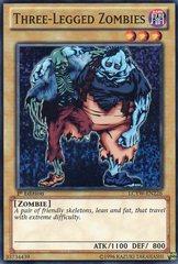 Three-Legged Zombies - LCYW-EN226 - Super Rare - 1st Edition