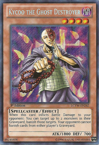 Kycoo the Ghost Destroyer - LCYW-EN242 - Secret Rare - 1st Edition