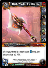 High Warlord's Cleaver
