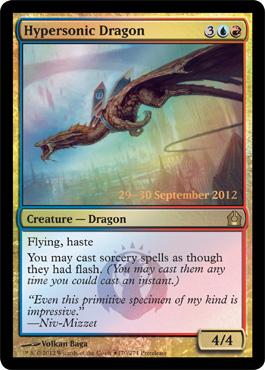 Hypersonic Dragon - Foil - Prerelease Promo
