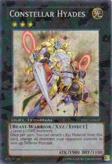 Constellar Hyades - DT07-EN037 - Super Parallel Rare - Duel Terminal on Channel Fireball