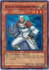 Aurkus, Lightsworn Druid - LODT-EN081 - Super Rare - 1st Edition